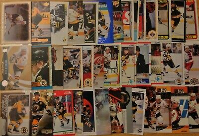 GREAT LOT of 10 RAY BOURQUE HOCKEY CARDS - BOSTON BRUINS