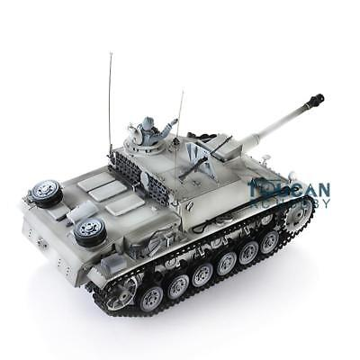 Henglong 1/16 Scale Plastic Version German Stug III RTR RC Tank 3868 Model
