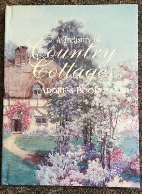 A Treasury Of Country Cottages Address Book