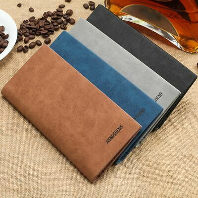 Card Holder Wallet Pocket Credit ID PU Leather Purse Money Cash Travel Mini Slim