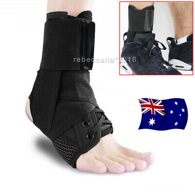 Ankle Brace Support Foot Stabilizer Sports Compression Wrap Orthosis