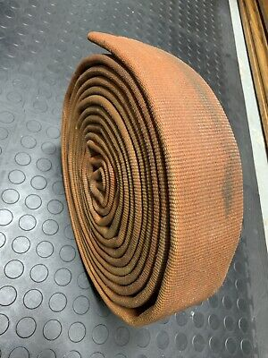 "FIRE HOSE 3"" INCH FLAT 23' FEET BOAT DOCK BUMPER Chafe RAILING Mooring Canvas"