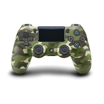 Official Genuine PS4 PlayStation DualShock 4 Wireless Controller V2 Green Camo