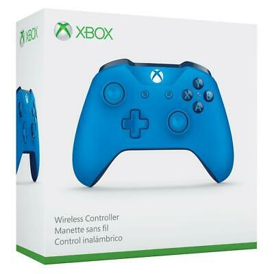 Official Microsoft Xbox One Wireless Controller (Blue) [Genuine | New & Sealed]
