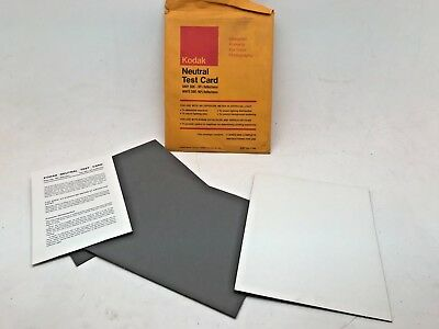 Kodak pack of 3 grey cards