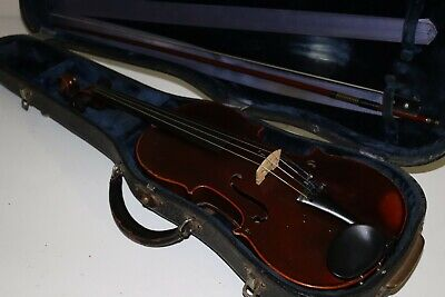 Restored Old Antique Pailliot a Paris Violin French Mirecourt 4/4 Unknown Age