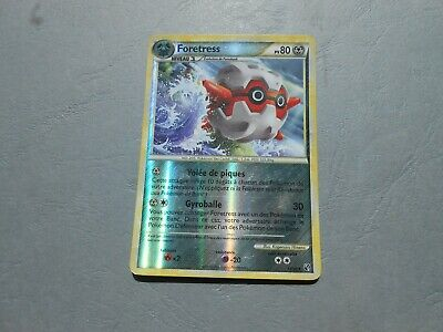 Carte Pokemon - HeartGold SoulSilver - Indomptable 13/90 Foretress PV80 REVERSE