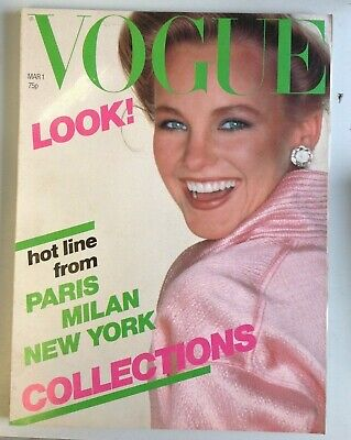d580d4300d VOGUE MAGAZINE MARCH 1979 Anthony Burgess ITALIAN FRENCH NY ...