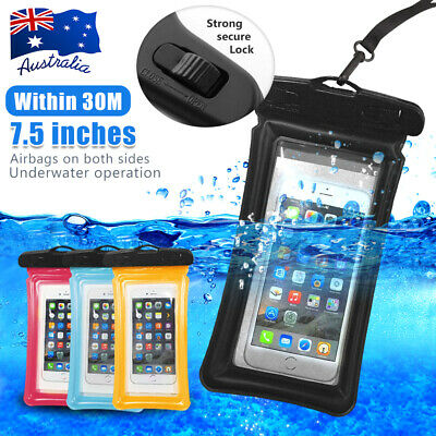 Waterproof Underwater Pouch Dry Bag Pack Case Cover For Mobile Smart Phones