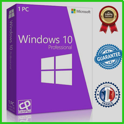 Windows 10 Pro Licence Key [GENUINE - INSTANT DELIVERY 24/7]