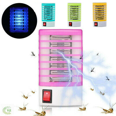LED Socket Electric Mosquito Fly Killer Lights Bug Insect Trap Night Zapper Lamp