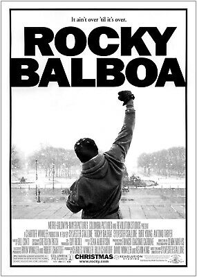 Rocky Balboa Classic Vintage Movie Large Poster Art Print A0 A1 A2 A3 A4 Maxi