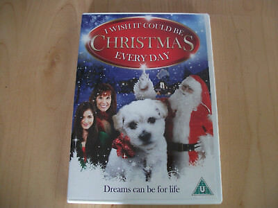 I Wish It Could Be Christmas Everyday (DVD, 2011) Good Condition