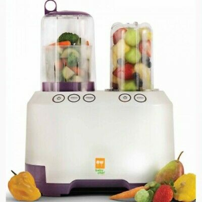 Kidsline Baby Chef Ultimate Baby Food Centre-Prep Blender/Steamer/Bottle Warmer