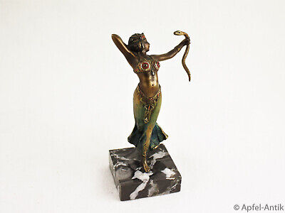Bergmann, F X; Wiener Bronze, Tänzerin Um 1910, Dancer Around 1910
