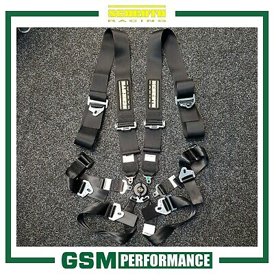 Schroth Clubman 3X2 Harness / Black / 94560-0