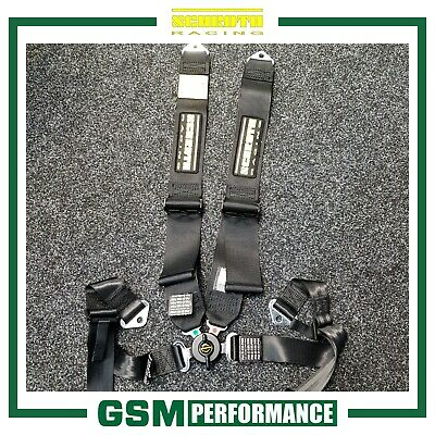 Schroth Profi Ii Asm Belt / Caterham / Black / Left