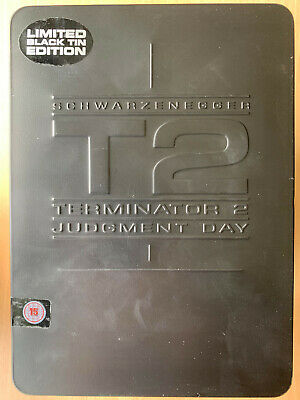 Terminator 2 Judgement Day DVD 1991 Classic in Rare Limited Edition Blechdose