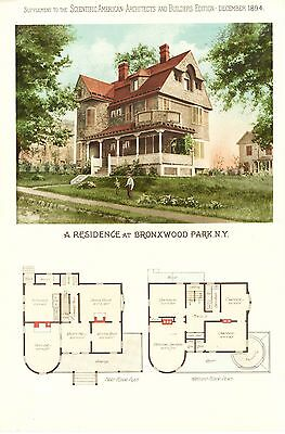 Bronxwood Park, N. Y. - Scientific American Architects and Builders Edition-1894