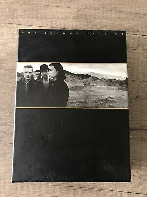 """U2 """"The Joshua Tree"""" 20th Anniversary Deluxe Set 2 CD+ 30 Page Book and Photo NM"""