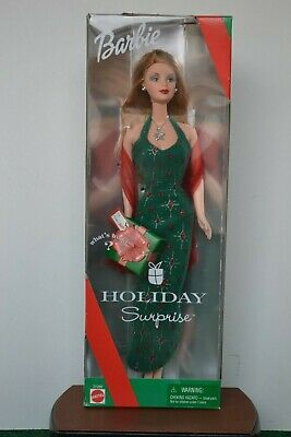 Mattel Holiday Surprise Barbie Doll