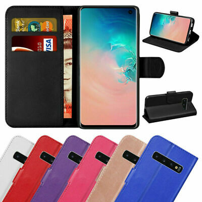 Case Cover For Samsung Galaxy S8 S9 S10 5G S7 A40 A70 Leather Wallet Book Phone
