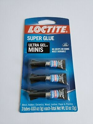 Loctite Ultra Gel Minis Super Glue.1 oz *Lowest Price & Competitive Offers!*