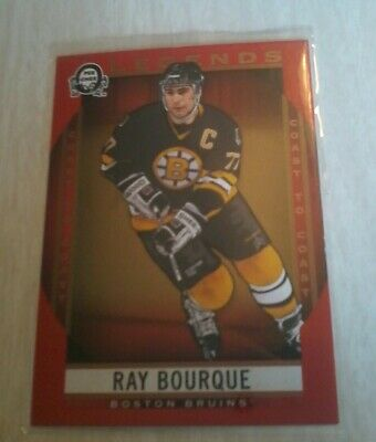2018 19 Ray Bofque 208 Coast To Coast Opc Legends  Red Opc Canadian Tire