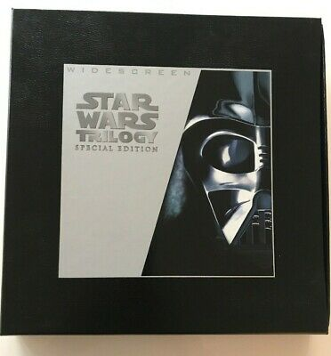 STAR WARS TRILOGY Special Edition Widescreen Laser Disc Box Set VGC