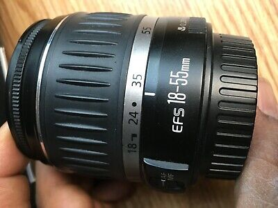 canon zoom  lens ef-s 18-55mm 1:3.5-5.6. 11