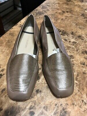 Modest Womens Enzo Angiolini 8.5 Brown Shoes Vero Cudio Flat Shoes Clothing, Shoes & Accessories