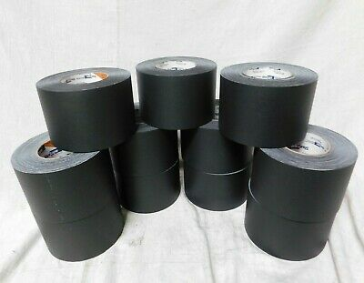 SHURTAPE P 628 Industrial Gaffer's Tape 72mm x 50M (3in x 55yd) Black case of 11