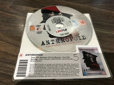 Anthropoid (Dvd, 2016) Disc Only