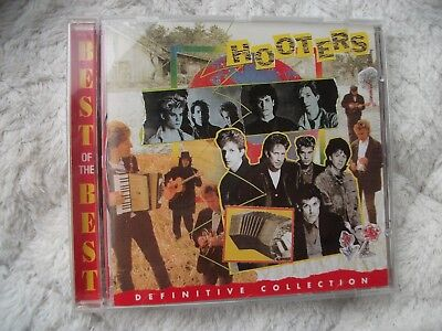 """HOOTERS """"Definitive Collection"""" Best Of CD-Album"""
