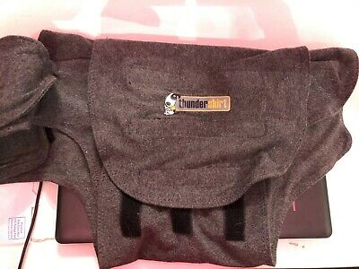 Thundershirt Dog Anxiety Calming Treatment XL Dogs Solid Gray - HGXL-T01