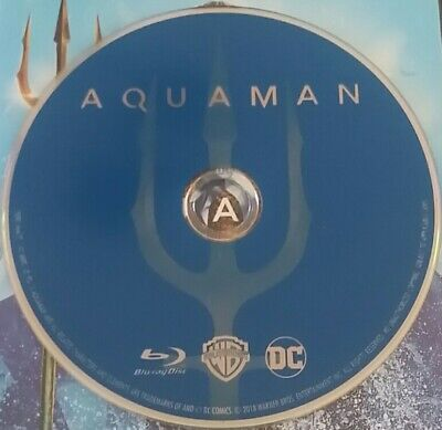 Aquaman (Blu-ray) / BLU RAY DISC ONLY, FROM 4K EDT  NO 4K DISC OR CODE! / UNUSED