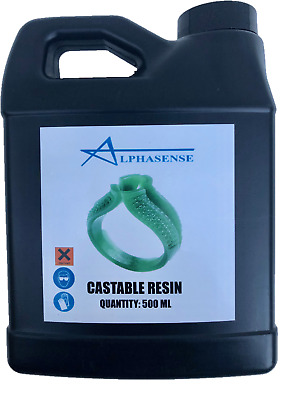 Alphasense 3D Castable Wax Resin For Dental, Jewelry And Industrial Parts