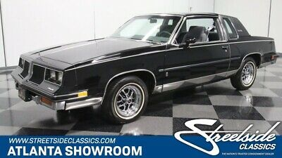 1986 Oldsmobile Cutlass -- classic vintage chrome survivor olds black low miles 5.0 v8