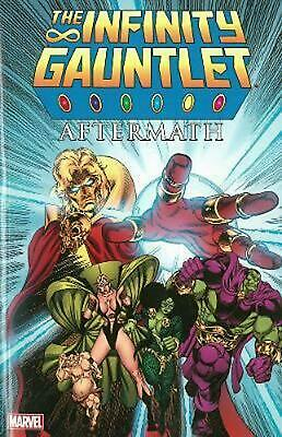 Infinity Gauntlet: Aftermath by Ron Marz (English) Paperback Book Free Shipping!