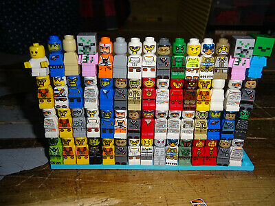 LEGO Lot of 60 MICROFIGS MICRO FIGURE MINI FIGURE Game Pieces