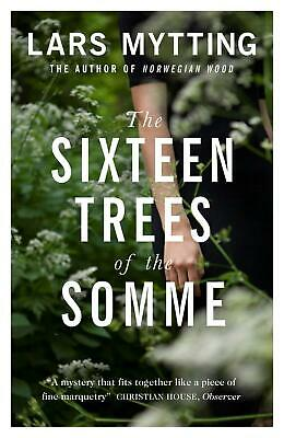 The Sixteen Trees of the Somme by Lars Mytting Paperback Book Free Shipping!