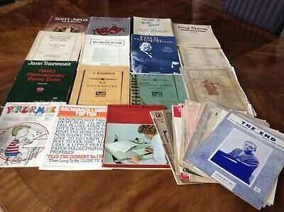 Lot of Vintage Sheet Music 47 PIECES includes Earl Grant signed piece