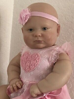 Reborn baby Girl doll lifelike realborn Joseph awake bountiful baby