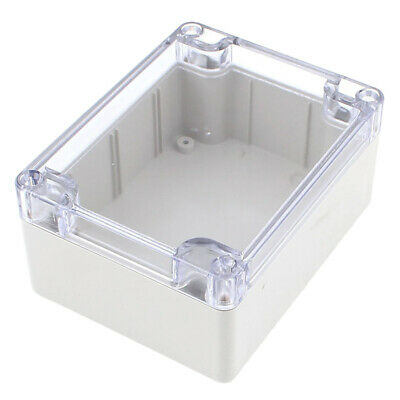 Waterproof Clear Cover Plastic Electronic Project Box 115x90x55mm E7H8