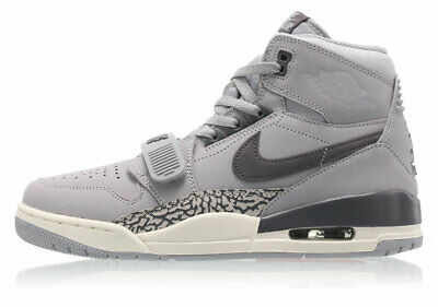 in stock 7d8c2 3f824 Nike Air Jordan Legacy 312 WOLF GREY GRAPHITE SAIL OFF WHITE BLACK  AV3922-002