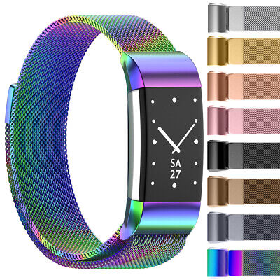 For Fitbit Charge 2 Milanese Replacement Smart Watch Strap Bracelet Wrist Band
