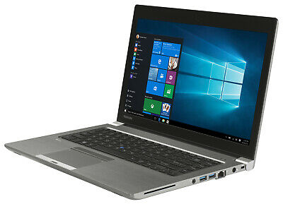 "Toshiba Portege Z40-A Light LAPTOP i5 4300 1.9Ghz 8GB 500GB 14"" LCD win10 PRO"