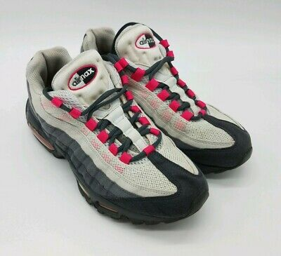 brand new 4cbb3 5d186 NIKE 336620-020 Air Max 95 Womens Size 8.5 Pink Grey Sneakers