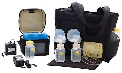 Factory Sealed! Medela In Style Advanced pump Double Electric w/ On-The-Go Tote
