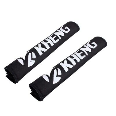 KHENG 2 x Bike chains Anti-theft protection Frame protection Chainstay prot X9C3